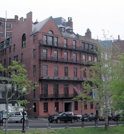 THE UNION CLUB OF BOSTON